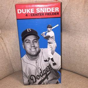 Dodgers Duke Snider Bobbleheads
